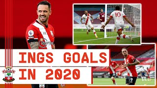 EVERY DANNY INGS GOAL IN 2020 | All 17 strikes from the Southampton forward during 2020