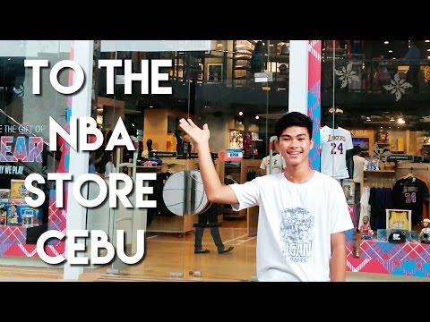To The NBA Store Cebu!