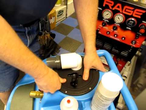 Add A 2quot Vacuum Port On A Portable Carpet Cleaning