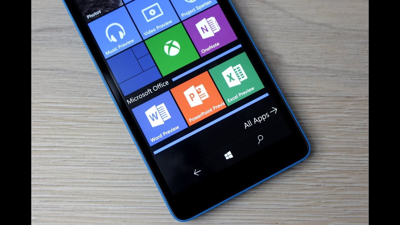windows 10 mobile build 10080 office music video xbox apps deutsch instantmobile build office video