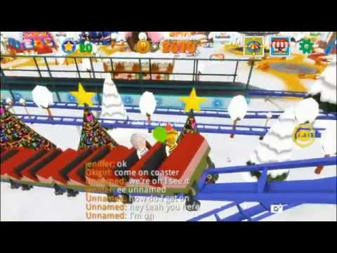 Frozen Land_Frozen Coaster - Theme Park Rider Playing Movie - 동영상