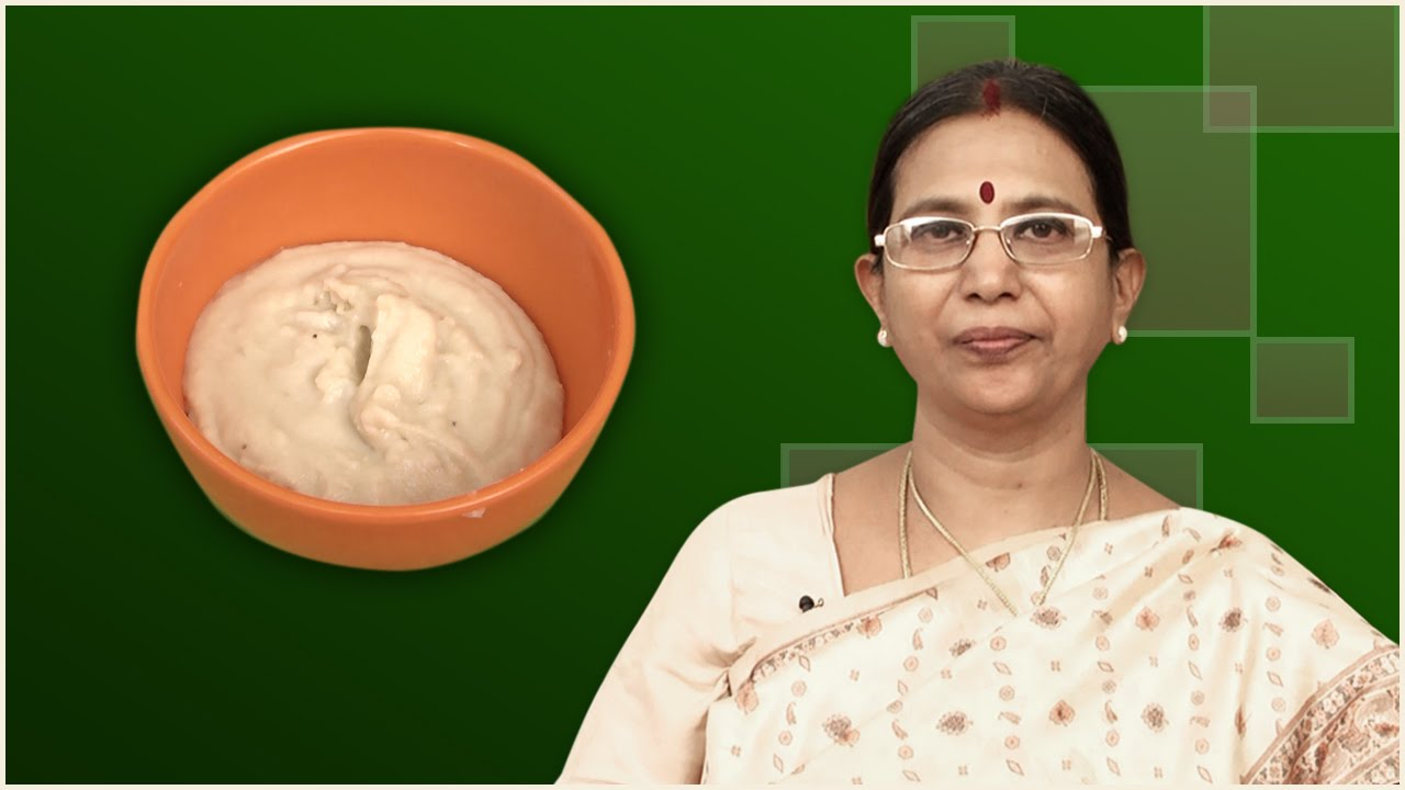 Banana porridge mallika badrinath recipes baby food youtube forumfinder