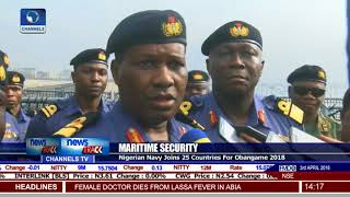 Nigerian Navy Joins 25 Countries For Obangame 2018