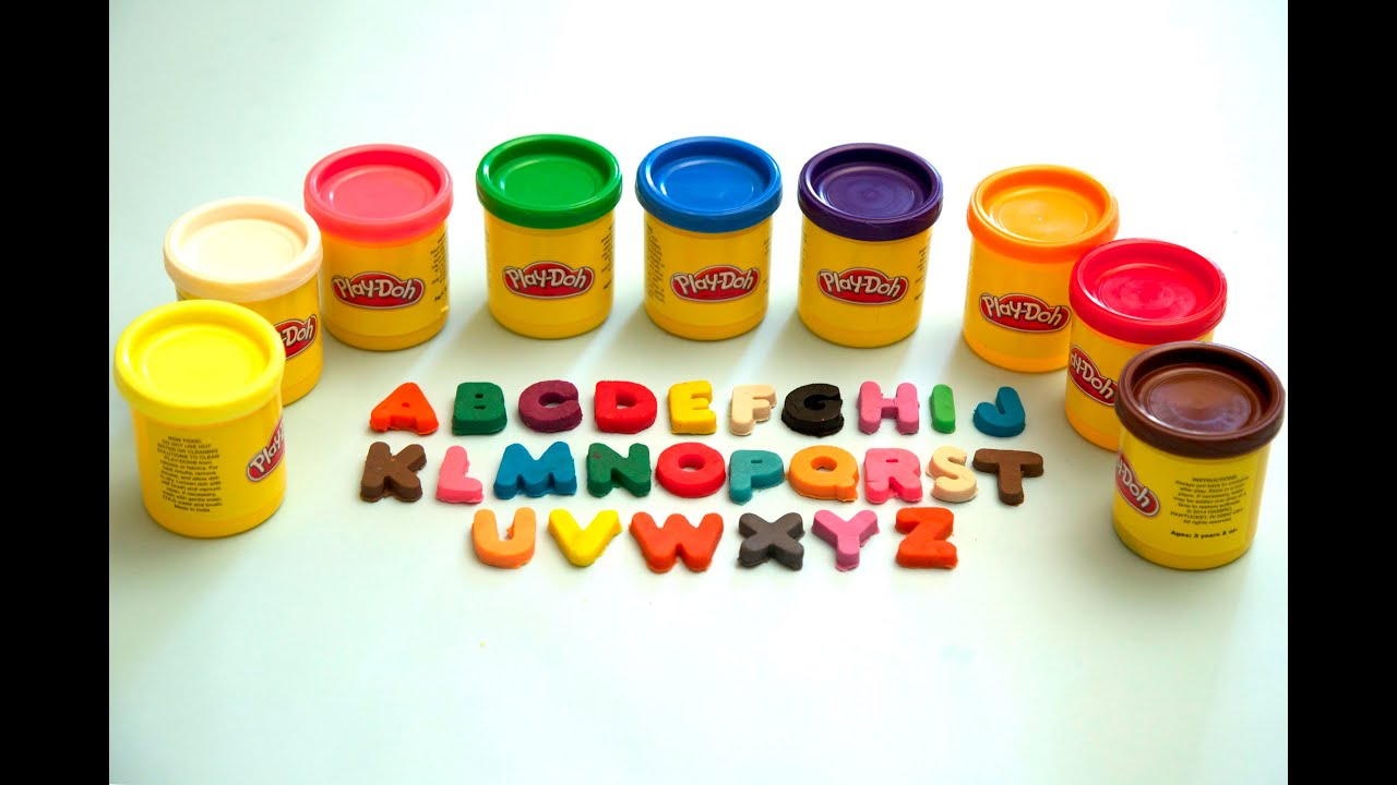 play doh abc song learn alphabets alphabets kids rhymes abc video youtube. Black Bedroom Furniture Sets. Home Design Ideas