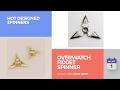 Overwatch Fidget Spinner Hot Designed Spinners
