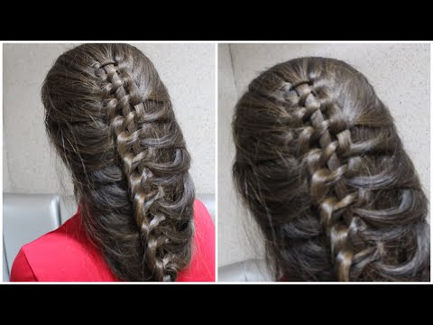 Hairstyle for long hair. Russian Braids. Easy hairstyle thumbnail