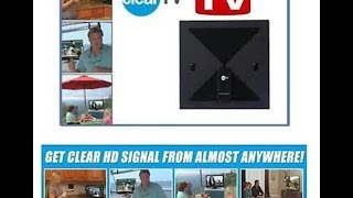 Clear TV HD Digital Antenna Instructions
