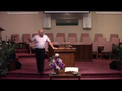 Sermon -- Chris Walls -- July 24, 2016