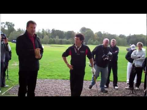 Faldo Series Grand Final 2011: Sir Nick & Rory Golf Clinic