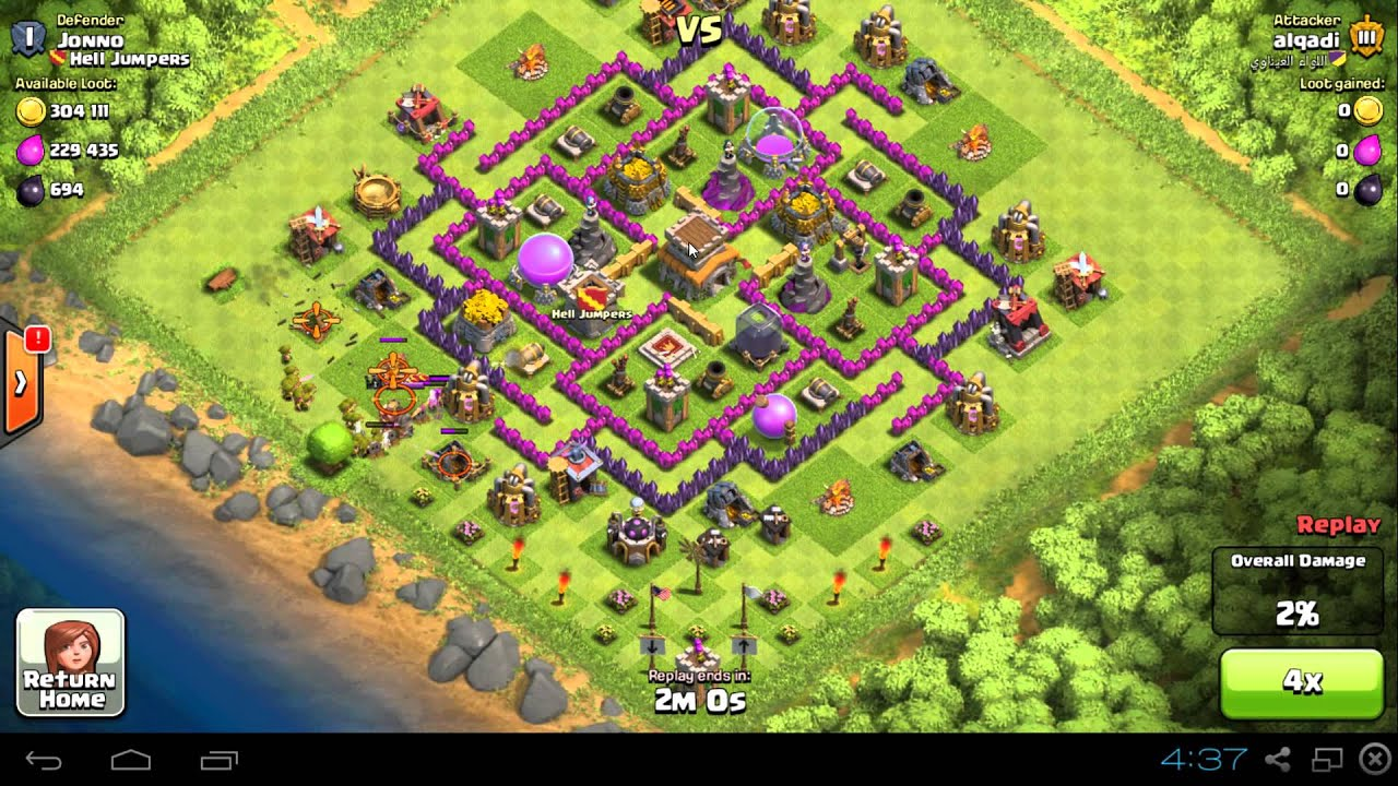 Base Coc Th 8 Labirin 10