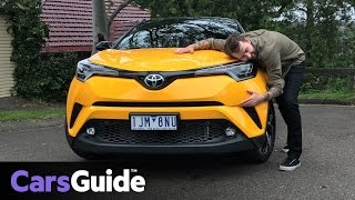 Toyota C-HR Koba 2WD 2017 review | road test video
