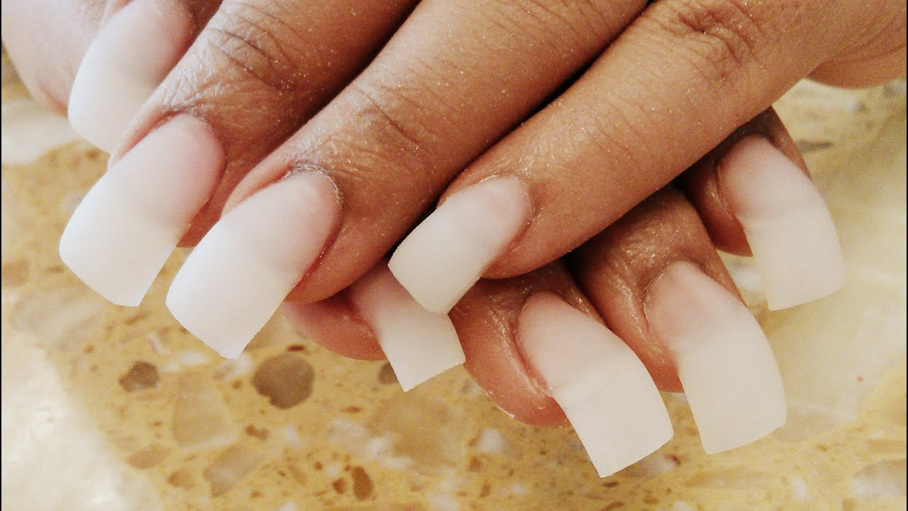 Slight Curve Acrylic Nail Tutorials