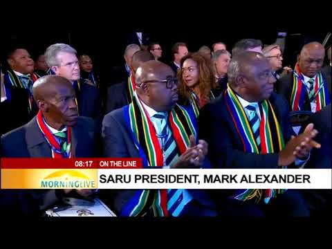 Mark Alexander on SA losing bid to host 2023 Rugby World Cup