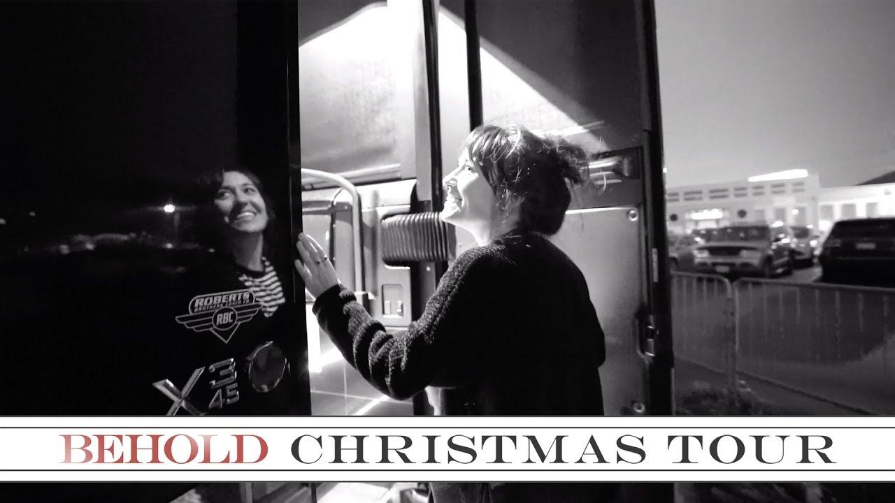 Lauren Daigle Bus Tour The Behold Christmas Tour 2018 Youtube
