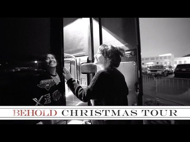 Lauren Daigle - Bus Tour | The Behold Christmas Tour 2018
