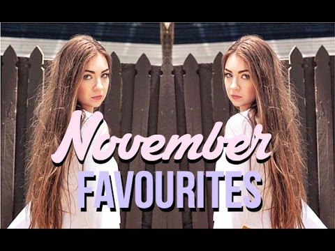 November Favourites 2014 + update from YouTube · Duration:  9 minutes 56 seconds