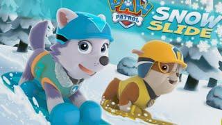Щенячий Патруль Щенки спасают пингвинов и Джейка Мультики про машинки Гонки #Мультики #игра