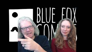 Gambar cover Blue Fox Comics Twitch Stream - Sat 28th March 2020