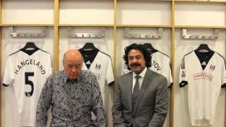 Shad Khan purchases Fulham Football Club