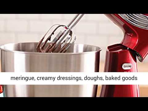 Dash Stand Mixer (Electric Mixer For Everyday Use) 6 Speed Stand Mixer With 3qt Stainless Steel Bowl