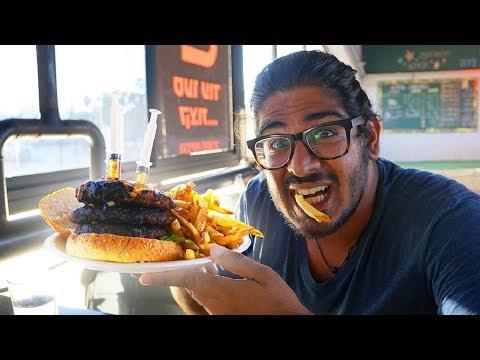 THE BEST BURGER IN THE WORLD! - Humongous Burger Kfar Saba