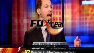 Grant Hill on Jalen Rose's 'Uncle Tom' remark from Michigan Wolverines Fab Five