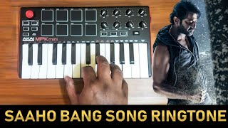Saaho Mass Bang Bang Bgm By Raj Bharath | Download Link In Description