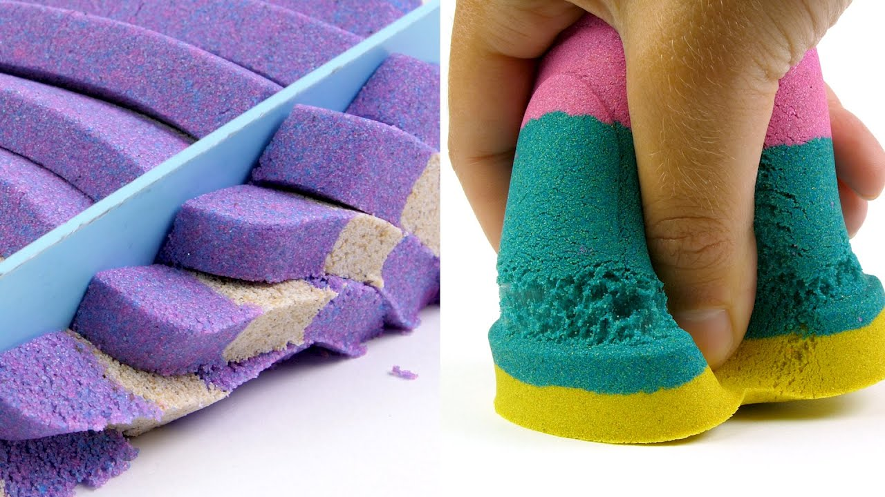 Lose yourself in this Super Satisfying Kinetic Sand compilation!