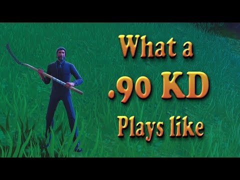 FORTNITE | What A LESS THAN 1 KD FORTNITE Player Plays Like