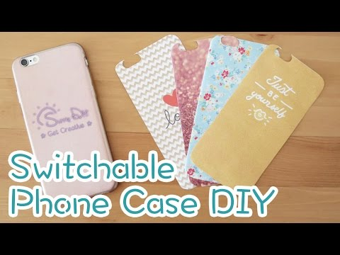 Switchable Design Phone Case DIY | Sunny DIY