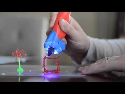 IDO3D Vertical 3D Pen Demo