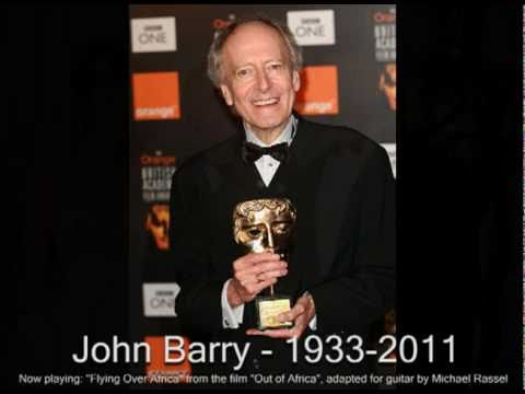 John Barry, film composer, 1933 - 2011