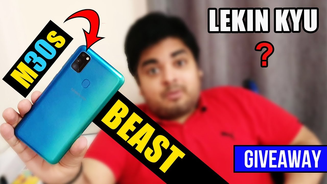 Samsung Galaxy M30s Quick Review - Beast To Hai Lekin Kyu? | 2x Giveaway
