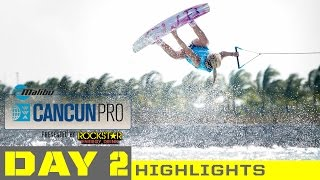 2015 Malibu Cancun Pro - Day 2 Highlights