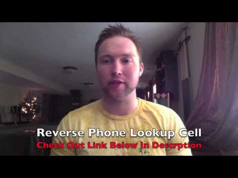 Reverse Phone Lookup Cell Phone - My Best Rated