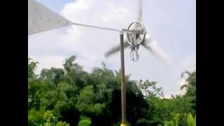 Pico Wind Turbine at Cijeruk, Bogor,  West Java, Indonesia