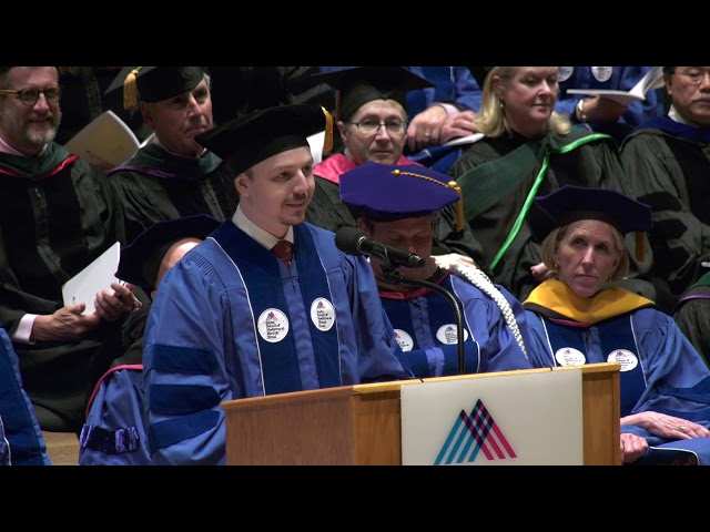 James Edward Duehr Addresses Fellow Graduates at 2019 Commencement