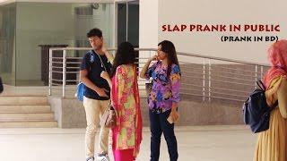 Slap Prank In Iub    Prankstars Got slaped In Front Of Cute Gi…