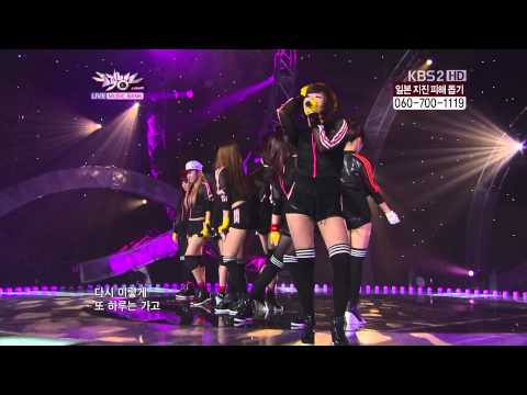 18.03.2011 [MusicB] T-ARA & 5Dolls: Its You (Remix)