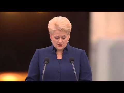 Opening Ceremony of the Lithuanian Presidency of the Council of the European Union. 5th July, 2013