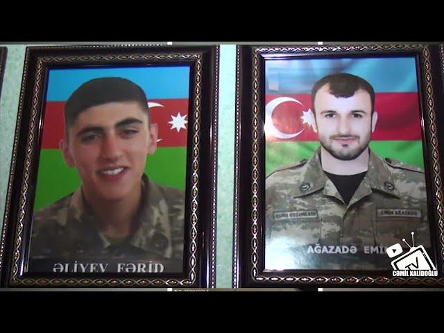Kurdmasi mektebinin Sehid Ferid Eliyev ve Emin Agazade ad günü Tedbiri