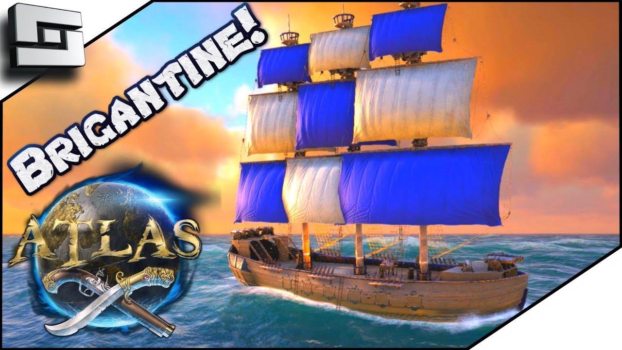 ᐈ ATLAS: Brigantine COMPLETED! Atlas Gameplay / Let's Play
