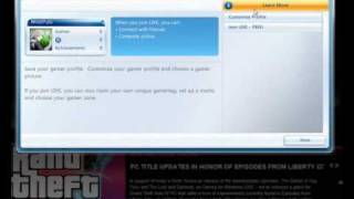Create an Offline Account for GTA 4 or Episodes from Liberty City