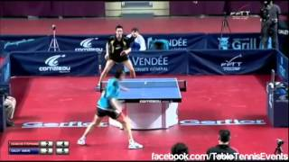Simon Gauzy Vs Stéphane Ouaiche: 1/2 Final [France Championships 2014]
