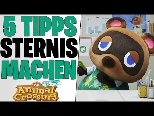 5 Gameplay Tipps Sternis Machen - Secret Geld Farm Methoden | Animal Crossing New Horizons deutsch