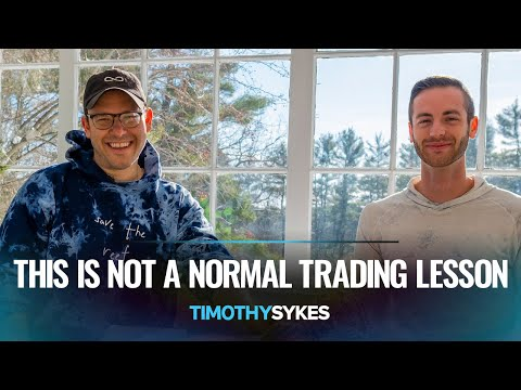 This Is Not A Normal Trading Lesson