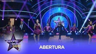 Baixinhos arrasam em coreografia de abertura do Dancing Brasil Junior