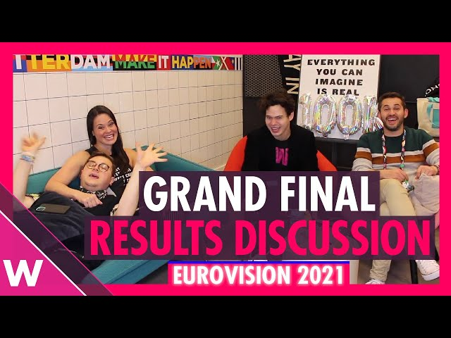 Eurovision 2021: Grand final results discussion and reaction