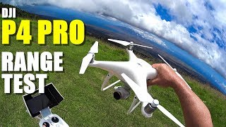 Dji phantom 4 pro review - part 3 - [4+ mile in-depth range test]