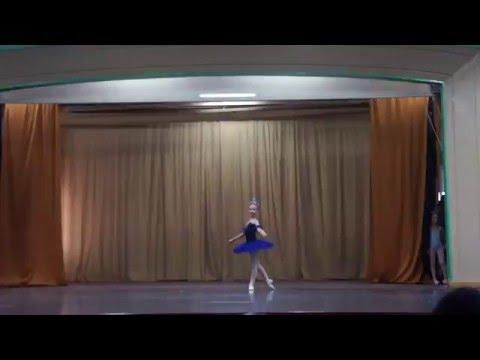 Па де де Черного лебедя из балета Лебединое озеро